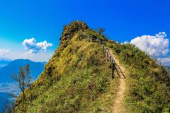 Scenic View of the Mountain Stock Photo