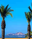 Scenic View of Mountain in Cabo Stock Photography