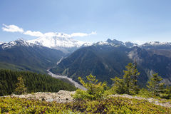 Scenic view of Mt Rainer. Washington, Seattle Stock Photos