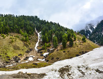 Scenic View of Naran Kaghan Valley, Pakistan Royalty Free Stock Photo