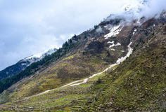 Scenic View of Naran Valley, Pakistan Royalty Free Stock Photos
