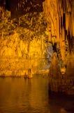Scenic view of Neptune`s Grotto, Sardinia, Italy Royalty Free Stock Photography