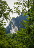 Scenic view of Neuschwanstein Castle in Bavaria Royalty Free Stock Photography