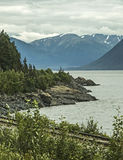 Scenic View from the New Seward Highway Stock Photography