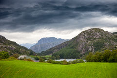 Scenic view of Norway Royalty Free Stock Photography