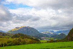 Scenic view of Norway Stock Photography