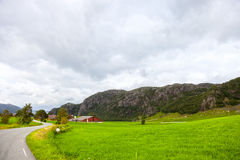 Scenic view of Norway Stock Images