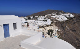 Scenic view from Oia, Santorini Royalty Free Stock Image
