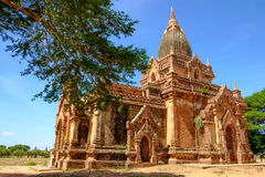Scenic view of old ancient temple in old Bagan, Myanmar Royalty Free Stock Images