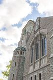 Scenic View of an old Medieval Church in Stockholm Sweden Royalty Free Stock Photography