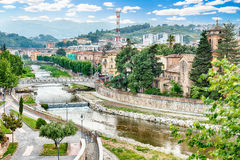 Scenic view of the Old Town in Cosenza, Italy Stock Photo