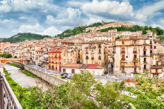 Scenic view of the Old Town in Cosenza, Italy Royalty Free Stock Image