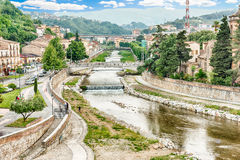 Scenic view of the Old Town in Cosenza, Italy Royalty Free Stock Photography