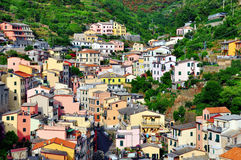Scenic view of an old village in Liguria Royalty Free Stock Photography