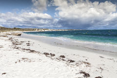 Scenic view over one of the beaches of Rottnest island, Australi Royalty Free Stock Photography