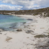 Scenic view over one of the beaches of Rottnest island, Australi Royalty Free Stock Image