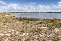 Scenic view over one of the beaches of Rottnest island, Australi Stock Image