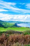 Scenic View over of Robin Hoods Bay Royalty Free Stock Photo