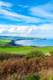 Scenic View over of Robin Hoods Bay Royalty Free Stock Photos