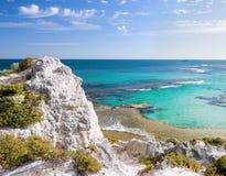 Scenic view over Rottnest. Island in Australia Stock Photo