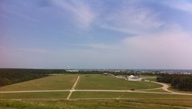 Scenic view overlooking the Outer Banks Stock Photos