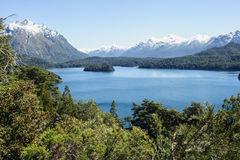 Scenic View in Patagonia Royalty Free Stock Photo