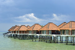 Scenic view of Port Dickson, Malaysia Royalty Free Stock Photography