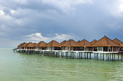 Scenic view of Port Dickson, Malaysia Royalty Free Stock Images