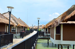 Scenic view of Port Dickson, Malaysia Royalty Free Stock Photo