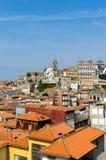 The scenic view of porto city Stock Image