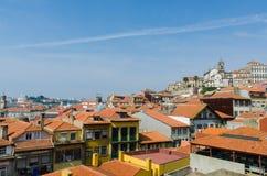 The scenic view of porto city Royalty Free Stock Photo
