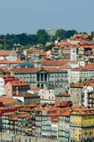The scenic view of porto city Royalty Free Stock Image
