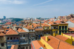 Scenic view of Porto city Royalty Free Stock Images