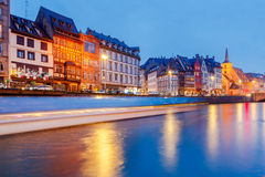 Strasbourg. Quay St. Nicholas. Royalty Free Stock Image