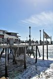 Scenic View of Redondo Landing California in Los Angeles County, California, United States royalty free stock images