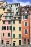 Scenic view in Riomaggiore, Italy Stock Image