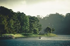 Scenic View of the RIver Royalty Free Stock Images