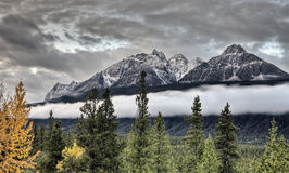Scenic View Rocky mountains Stock Photos