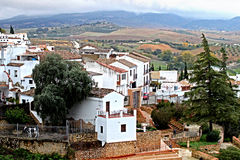Scenic view of Ronda. Andalucia, Spain Royalty Free Stock Photography