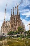 Scenic view of the Sagrada Familia, Barcelona Stock Photography