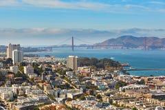 Scenic view of San Francisco, California, USA Stock Photo