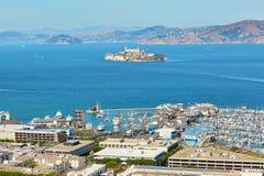 Scenic view of San Francisco, California, USA Royalty Free Stock Photography