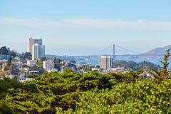 Scenic view of San Francisco, California, USA Stock Image