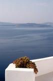 Scenic view santorini Stock Photos