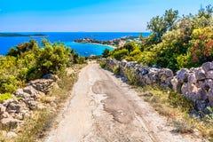 Sevid place in Dalmatia, Croatia. stock photos