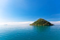 Scenic view on small tropical island. Thailand. Stock Images