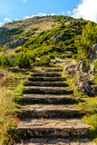 Scenic view from Stairs to Heaven on the island of Madeira, Portugal Royalty Free Stock Photos