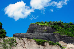 Stone quarry on island of Bali Royalty Free Stock Photos