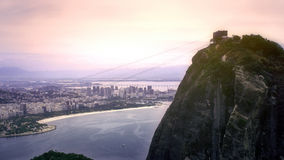 Scenic View on Sugar Loaf Mountain Stock Images