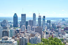 Scenic view of summer Montreal Stock Photos